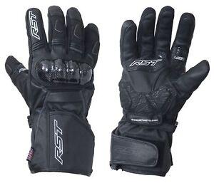 RST-2134-Rallye-CE-Waterproof-Motorcycle-Motorbike-Gloves-Black