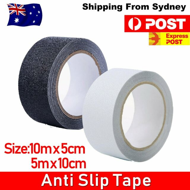 5M 10M NON SLIP TAPE ANTI SKID Self Adhesive Textured Backed Safety Floor Steps