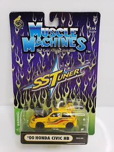 Muscle-Machines-SS-Tuner-039-00-Honda-Civic-HB-Yellow-1-64