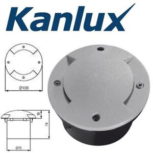 Kanlux Del In Ground Monté 240 V Ip66 Outdoor Garden Path Way Luminaire-afficher Le Titre D'origine 17jbboo6-10133811-507516573