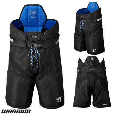 Small Medium Large $89 New Warrior Black Covert DT3 junior Ice hockey pants Jr