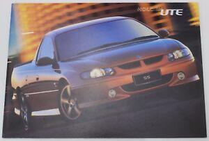 New Holden Commodore VU Ute Sales Brochure SS Tiger Mica 50TH Anniversary