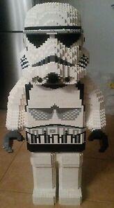 De recette INSTRUCTION Star Wars Soldat Fig sculptur autoconstruction pièce unique MOC LEGO  </span>