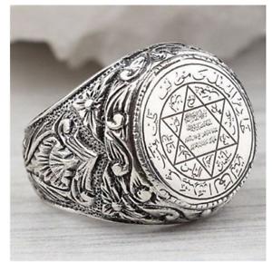 anillo salomon estrella david hexagrama  Aleación salomon star david stamp