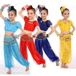 7e274c1ae107 Handmade Children Girl Belly Dance Costumes Kids Belly Dancing Egypt ...