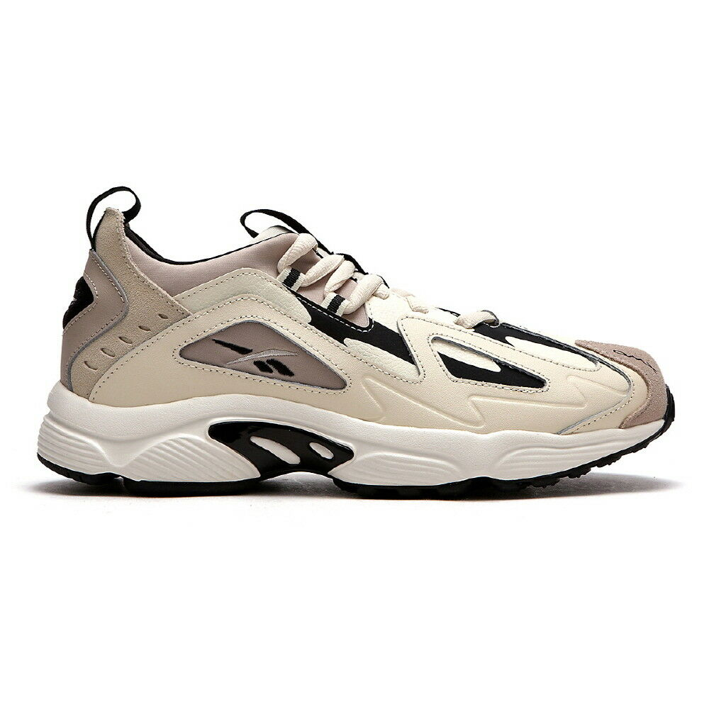 New Womens Reebok DMX Series 1200 WHITE   SAND   GREY DV9232 UNISEX SIZE TAKSE