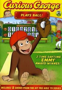 Curious-George-Plays-Ball-New-DVD-Full-Frame-Dolby