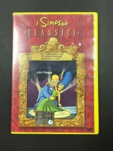 DVD-I-SIMPSON-CLASSICI-6-THE-SIMPSONS-GO-TO-HOLLWOOD-TREMANO-LE-STAR