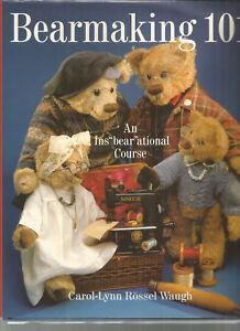 BEARMAKING-by-Waugh-TRADITIONAL-TEDDY-BEARS-Gibbs-CHARACTER-BEARS-Tyler-3-BOOKS