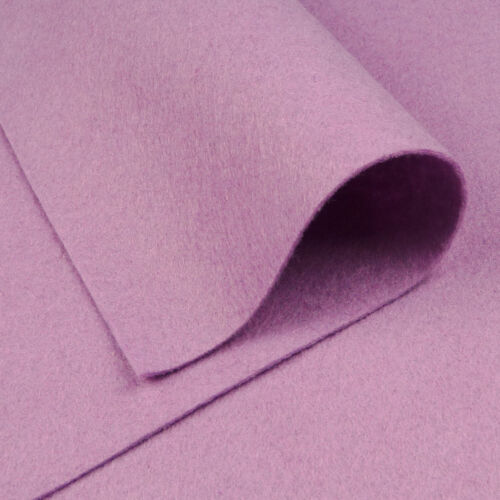 Feutrines wisteria violet ~ 22cm x 90cm//quilting laine feutre tissu léger lilas