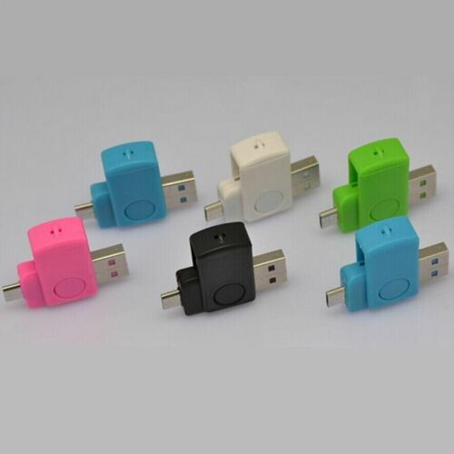 Multifunctional Micro USB2.0 OTG Adapter+SD TF Memory Card Reader for Android CA