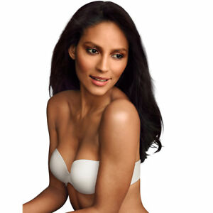 c4d433f480 Maidenform Comfort Devotion Custom Lift Strapless Bra 9417 38d White ...