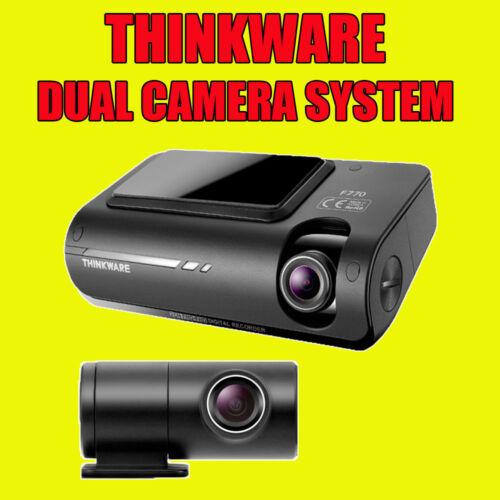 Thinkware F770 avant et arrière DASHCAM Full HD 32 Go Vitesse Caméra Hardwire Kit cig
