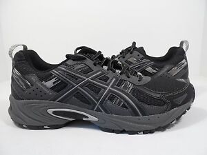 fc5a1669856a ASICS Men s Gel-Venture 5 Trail Runner Black Onyx Charcoal Size 7 M ...