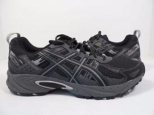 5c9a7a4db4b5 ASICS Men s Gel-Venture 5 Trail Runner Black Onyx Charcoal Size 7 M ...