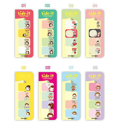 Side-it Korean Stationery Sticker Post It Bookmarker Memo Pad Flags Sticky Notes