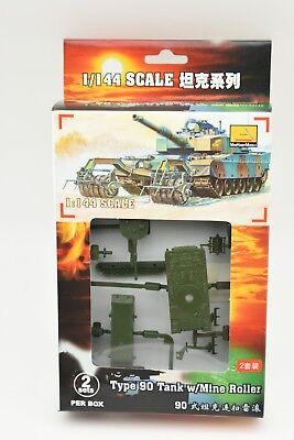 1/scatola 82117 Tipo 90 Tanks W/ Rullo Della Miniera (2 Per Scatola) W 1/144 Eccellente Nell'Effetto Cuscino
