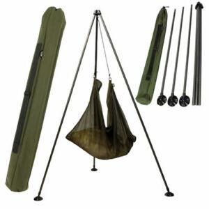NGT-CARP-FISHING-WEIGHING-TRIPOD-WITH-BAG-FOR-CARP-FISHING