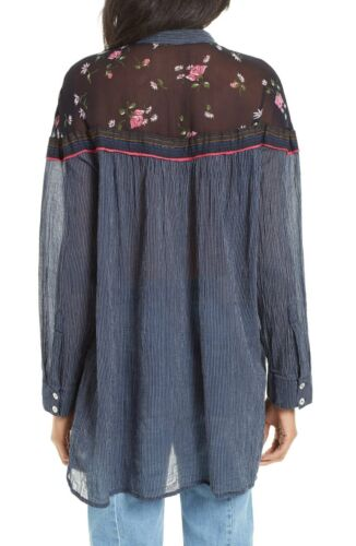 NWT Free people Hearts /& Colors Top blouse Retail $98