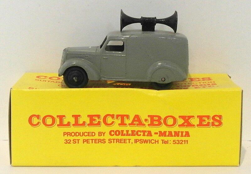 Vintage Dinky 34C - Loudspeaker Van - grau