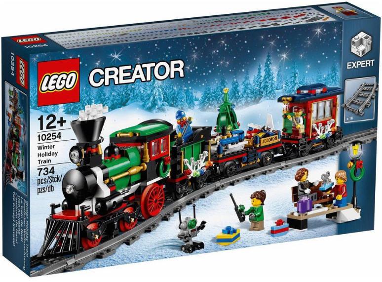 NOUVEAU & NEUF dans dans dans sa boîte Creator Expert LEGO ® 10254-Festif Weihnachtszug NOUVEAU & NEUF dans sa boîte ff0439