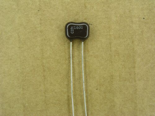 160 pf 500 volt 500V 4 Pc Lot 2 /% silver mica capacitor S01029-231