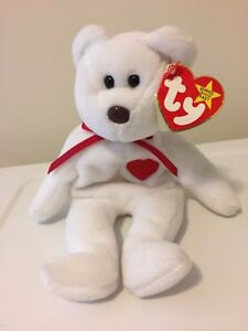 Image is loading RARE-Valentino-Beanie-Baby-with-Multiple-Errors-PVC- 1f975e25bc93