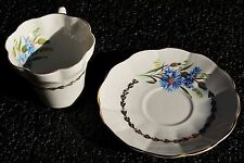 Hamilton Fine Bone China Cup & Saucer – Made in England– Floral