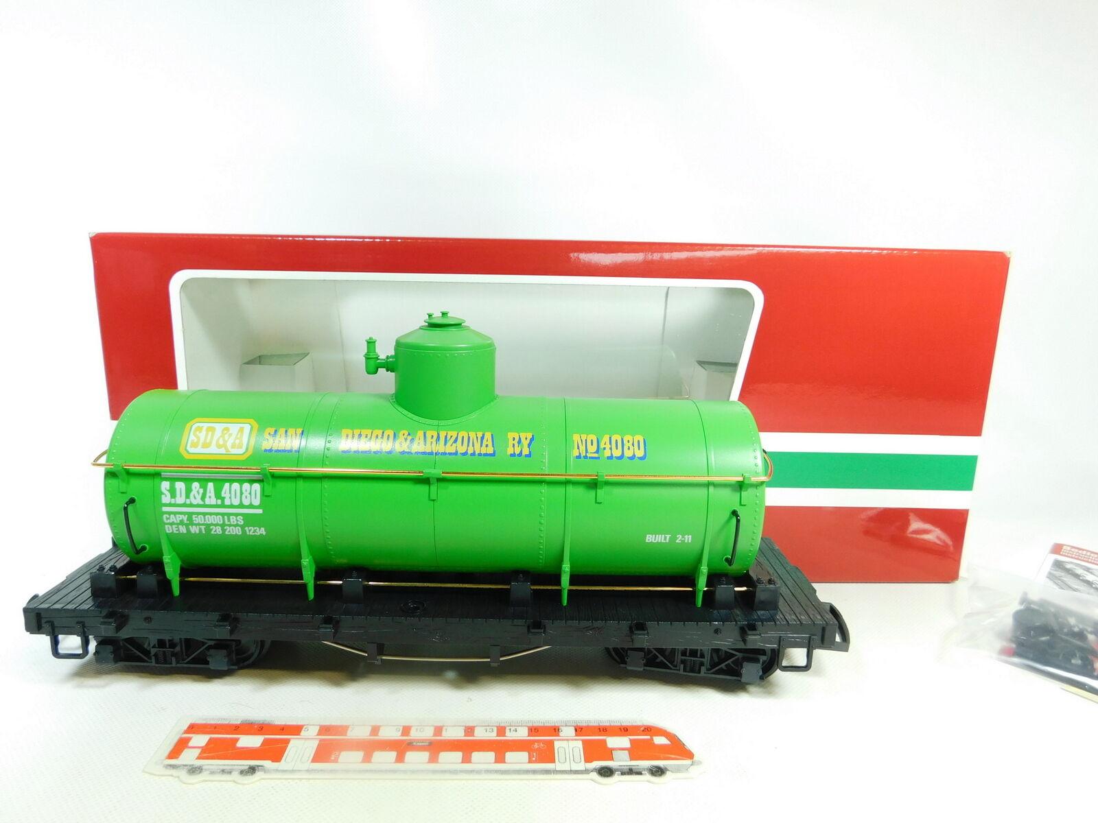 BR137-3   LGB Escala G   Iim   Dc 4080 - y 05 Vagón de Depósito Ee.uu. SD & a