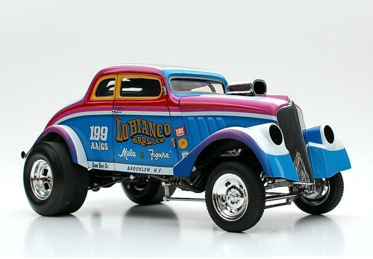 ACME 1 18 1933 Gasser LoBianco Bros & Co Diecast Model Car A1800902