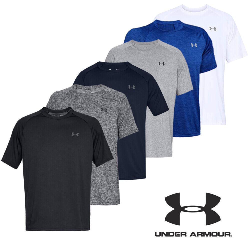 restaurante Esplendor Agarrar  Under Armour T Shirt Mens UA Tech 2.0 SS Short-Sleeve Tee Sports Gym  Training | eBay