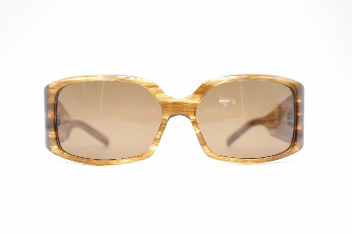 Christian Roth CR 14273 56 19 Braun Oval Sunglasses New