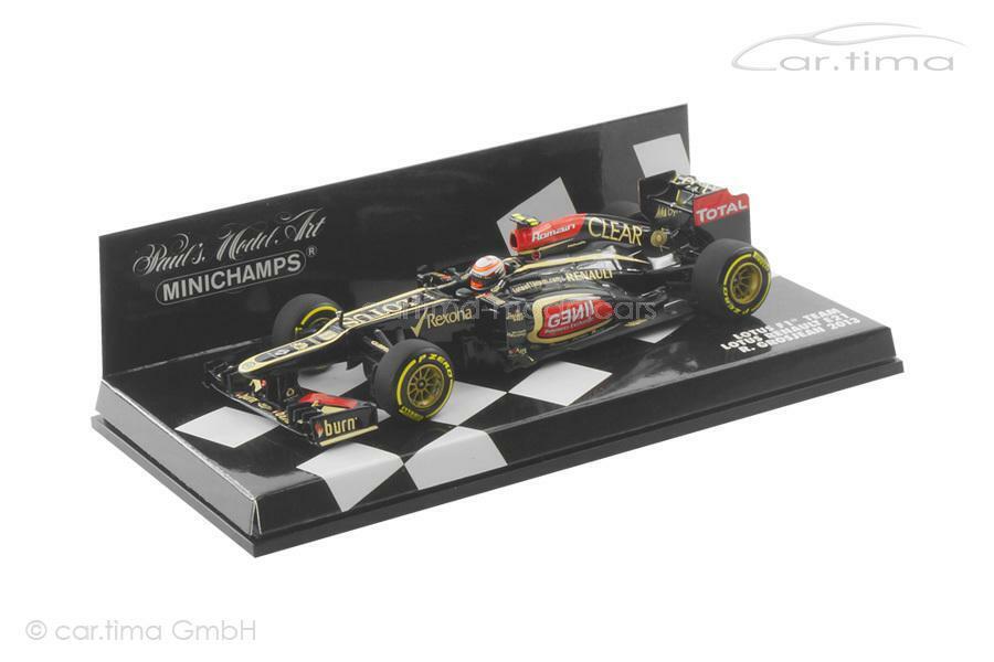 miglior servizio Lotus f1 squadra squadra squadra RENAULT e21 2013-Romain Grosjean-MINICHAMPS - 1 43  80% di sconto