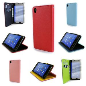 For Sony Xperia Z3 Wallet Case With Screen Protector - Flip Pouch