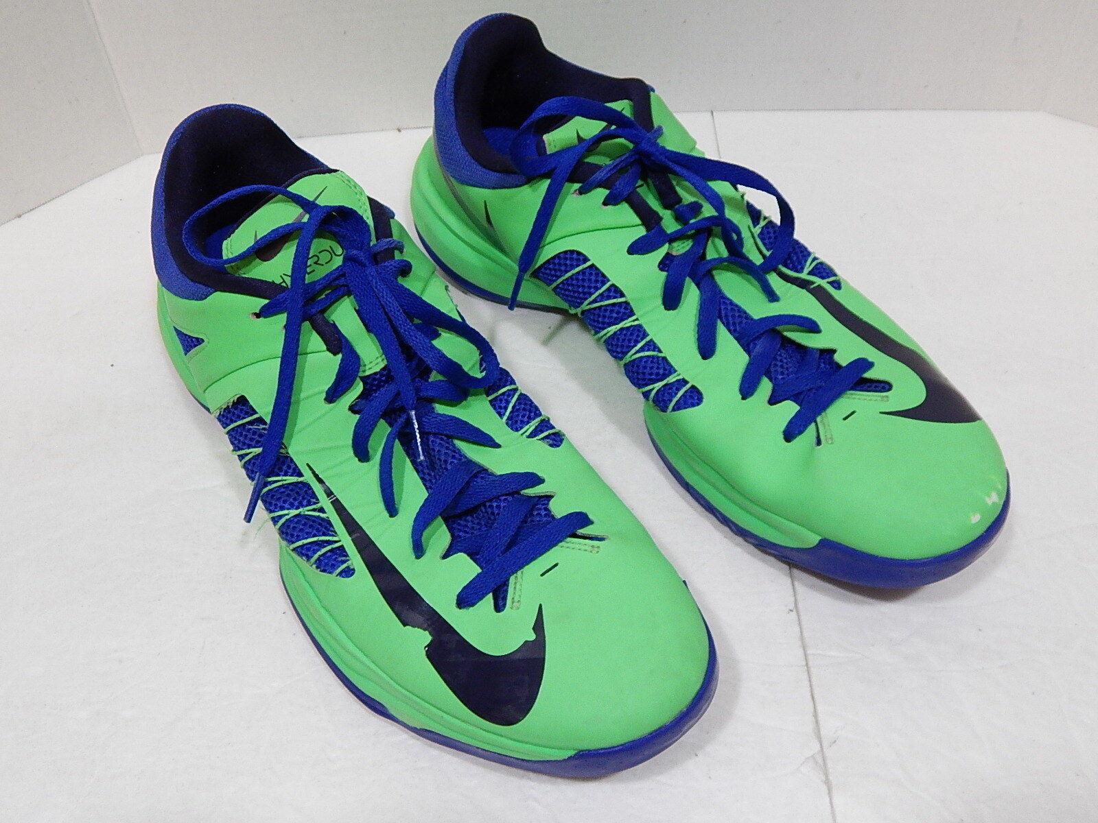 Bei nike hyperdunk grüne schuhe niedrigen top gift grüne hyperdunk hyper - blauen größe 15. 09eda2