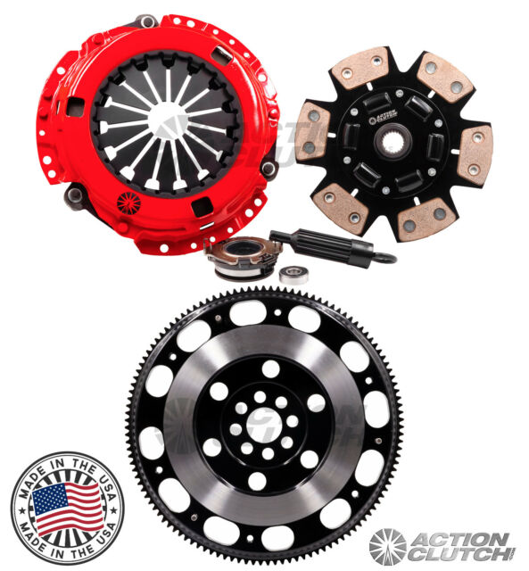 ACTION STAGE 3 CLUTCH & RACE FLYWHEEL KIT FITS ACURA