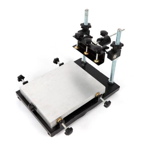 Manual Solder Paste Printer,PCB SMT Stencil Printer Machine Size 300x240mm TOP