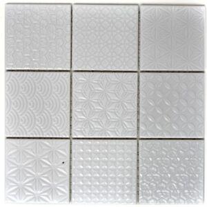 Retro-Vintage-mosaico-piastrella-in-ceramica-bianco-Spirit-art-22b-0104-b-1-Tappetino