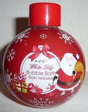 (100 ml = 2,50 €) Avon - Weihnachtsedition Bubble Bath Schaumbad - Weiße Lilie