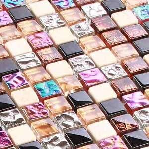 Glasmosaik-Fliesen-Naturstein-Marmor-Mosaik-Glass-Stone-Rainbow-M