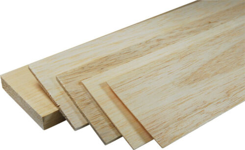 19mm thick balsa wood sheet model making architect arts crafts various lengths