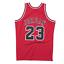 Authentic-Pro-Jersey-Chicago-Bulls-Road-Finals-1997-98-Michael-Jordan-Red-Large thumbnail 2