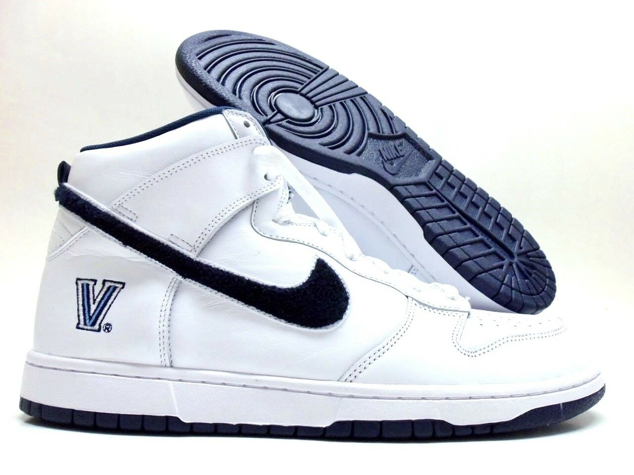 NIKE DUNK HIGH ID WHITE/MIDNIGHT NAVY SIZE MEN'S 11 [AH2110-991]