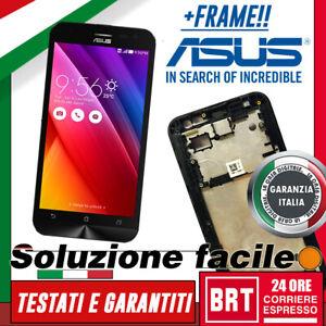 DISPLAY-LCD-TOUCH-SCREEN-FRAME-ASUS-ZENFONE-2-LASER-ZE500KL-Z00ED-VETRO-SCHERMO