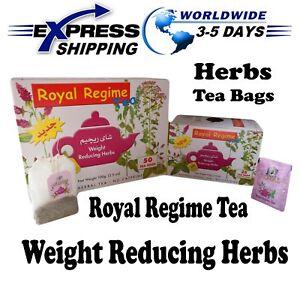royal regime tea  Royal Regime Tea Bags Weight Loss Reducing Herbal Slimming Herbs ...