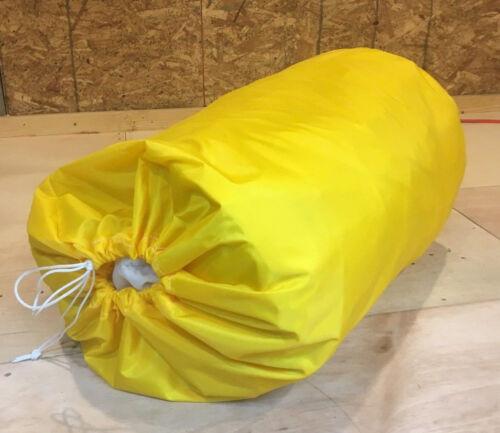 "Medium Size Sail Bag 33/"" x 16/"" New Yellow Nylon mainsail jib spinnaker"