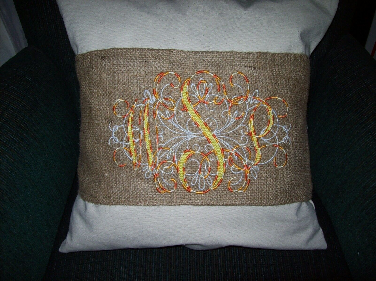 Buy 12 Wholesale Burlap Pillow Wraps Blank For Painting Embroidery