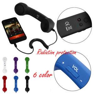 1PC-Retro-Radiation-Proof-Telephone-Handset-Phone-Classic-Receiver-For-iPhone