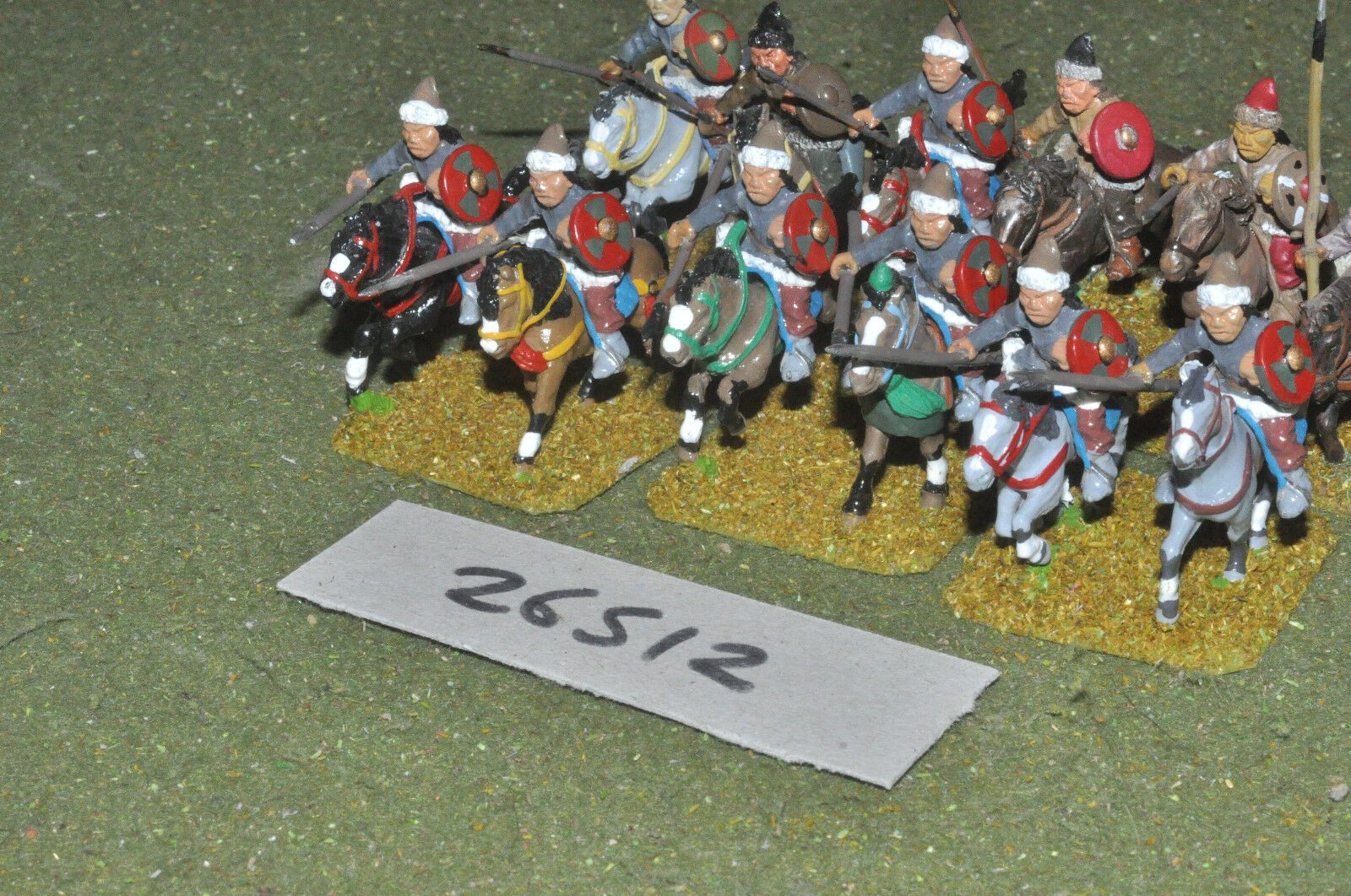 25mm dark ages   asiatic - heavy 12 figures - cav (26512)