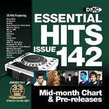 DMC Essential Hits 142 Chart Music DJ CD - Latest Releases of Radio Edit Tracks